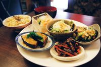 """Photo of Sujata  by <a href=""""/members/profile/YukiLim"""">YukiLim</a> <br/>Japanese lunch plate with miso soup and refillable brown rice and  <br/> July 18, 2017  - <a href='/contact/abuse/image/26720/281624'>Report</a>"""