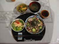 """Photo of Sujata  by <a href=""""/members/profile/davidredstone"""">davidredstone</a> <br/>This was the Japanese set menu dinner for 850 Yen. It tasted as good as it looks in the photo! <br/> April 17, 2013  - <a href='/contact/abuse/image/26720/47060'>Report</a>"""