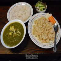 """Photo of Sujata  by <a href=""""/members/profile/kareru"""">kareru</a> <br/>Spinach curry <br/> July 27, 2011  - <a href='/contact/abuse/image/26720/9826'>Report</a>"""