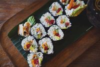"""Photo of Alchemy  by <a href=""""/members/profile/Eat%20Away"""">Eat Away</a> <br/>The California rolls <br/> October 5, 2015  - <a href='/contact/abuse/image/28110/120268'>Report</a>"""