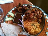 """Photo of Calactus Cafe  by <a href=""""/members/profile/TrayLanna"""">TrayLanna</a> <br/>Taj Mahal Thali *Veganized <br/> March 9, 2012  - <a href='/contact/abuse/image/2916/29232'>Report</a>"""