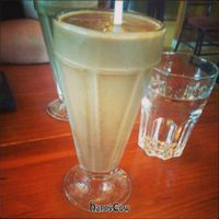 """Photo of Calactus Cafe  by <a href=""""/members/profile/QuothTheRaven"""">QuothTheRaven</a> <br/>Vegan chocolate banana shake <br/> June 23, 2013  - <a href='/contact/abuse/image/2916/50059'>Report</a>"""