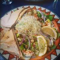 """Photo of Calactus Cafe  by <a href=""""/members/profile/QuothTheRaven"""">QuothTheRaven</a> <br/>Vegan caesar salad <br/> June 27, 2013  - <a href='/contact/abuse/image/2916/50289'>Report</a>"""