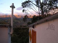 """Photo of Black Sheep Inn  by <a href=""""/members/profile/BlackSheepInn"""">BlackSheepInn</a> <br/>View from one of the composting toilets at sunset <br/> January 16, 2018  - <a href='/contact/abuse/image/30629/347277'>Report</a>"""
