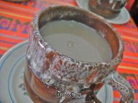 "Photo of CLOSED: Teotl Amayetzin - Cocina Artesanal Prehispanica  by <a href=""/members/profile/FatGayVegan"">FatGayVegan</a> <br/>Piping hot atole <br/> September 23, 2012  - <a href='/contact/abuse/image/30903/38272'>Report</a>"