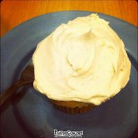 """Photo of Susty's Cafe  by <a href=""""/members/profile/michaelxvx"""">michaelxvx</a> <br/>coconut cupcake with caramel frosting <br/> January 30, 2012  - <a href='/contact/abuse/image/3167/27260'>Report</a>"""