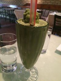 """Photo of Vegetarian Haven  by <a href=""""/members/profile/JazzyCow"""">JazzyCow</a> <br/>Matcha Smoothie <br/> October 26, 2015  - <a href='/contact/abuse/image/3237/122785'>Report</a>"""