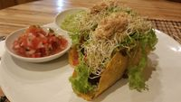 """Photo of Earth Cafe and Market - Ubud  by <a href=""""/members/profile/Rosa%20veg"""">Rosa veg</a> <br/>Tacos <br/> April 22, 2017  - <a href='/contact/abuse/image/32487/250776'>Report</a>"""