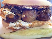 "Photo of CLOSED: Gutenfleischers  by <a href=""/members/profile/calamaestra"">calamaestra</a> <br/>meatball sub <br/> February 16, 2014  - <a href='/contact/abuse/image/33035/64360'>Report</a>"