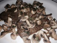 """Photo of John's of 12th Street  by <a href=""""/members/profile/slo0go"""">slo0go</a> <br/>Seitan mushroom marsala (different lighting) <br/> September 14, 2015  - <a href='/contact/abuse/image/33041/117705'>Report</a>"""