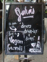 """Photo of John's of 12th Street  by <a href=""""/members/profile/Sonja%20and%20Dirk"""">Sonja and Dirk</a> <br/>sign out front <br/> July 21, 2013  - <a href='/contact/abuse/image/33041/51797'>Report</a>"""