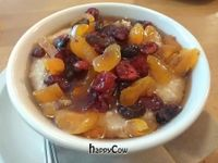 """Photo of CLOSED: 'sNice - Soho  by <a href=""""/members/profile/eric"""">eric</a> <br/>Steel cut oatmeal with dried fruit <br/> May 21, 2013  - <a href='/contact/abuse/image/33544/48441'>Report</a>"""