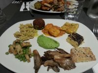 """Photo of Ops Cucina Mediterranea  by <a href=""""/members/profile/MargoMustert"""">MargoMustert</a> <br/>Amazing vegan dinner on wednesday! <br/> August 11, 2015  - <a href='/contact/abuse/image/33562/113154'>Report</a>"""