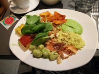 """Photo of Ops Cucina Mediterranea  by <a href=""""/members/profile/xDIABOx"""">xDIABOx</a> <br/>Vegan plate at Ops! <br/> December 14, 2015  - <a href='/contact/abuse/image/33562/128427'>Report</a>"""