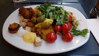 "Photo of Ops Cucina Mediterranea  by <a href=""/members/profile/JonJon"">JonJon</a> <br/>Gluten-free buffet <br/> July 1, 2017  - <a href='/contact/abuse/image/33562/275595'>Report</a>"