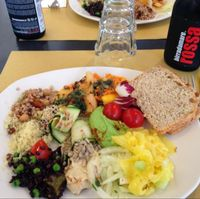 """Photo of Ops Cucina Mediterranea  by <a href=""""/members/profile/urbanprairie"""">urbanprairie</a> <br/>A little taste of (almost) everything! <br/> July 1, 2014  - <a href='/contact/abuse/image/33562/73046'>Report</a>"""