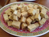"""Photo of Vinh Loi Tofu  by <a href=""""/members/profile/Sonja%20and%20Dirk"""">Sonja and Dirk</a> <br/>large tofu plate <br/> January 3, 2015  - <a href='/contact/abuse/image/3385/89424'>Report</a>"""