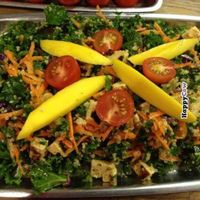 """Photo of Healthy Junk  by <a href=""""/members/profile/Hippiecatlady"""">Hippiecatlady</a> <br/>all hail kale salad! with mangos! <br/> September 10, 2013  - <a href='/contact/abuse/image/34315/182935'>Report</a>"""