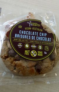 """Photo of Sweets from the Earth  by <a href=""""/members/profile/vegnbee"""">vegnbee</a> <br/>Chocolate Chip Cookie! <br/> May 17, 2018  - <a href='/contact/abuse/image/34329/401029'>Report</a>"""