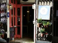 """Photo of Cafe Camelia  by <a href=""""/members/profile/eric"""">eric</a> <br/>entrance <br/> April 3, 2017  - <a href='/contact/abuse/image/34450/244271'>Report</a>"""