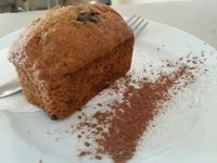 """Photo of Cafe Camelia  by <a href=""""/members/profile/eric"""">eric</a> <br/>vegan banana bread <br/> April 3, 2017  - <a href='/contact/abuse/image/34450/244272'>Report</a>"""