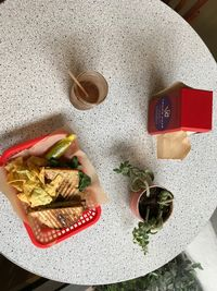 """Photo of VO2 Vegan Cafe  by <a href=""""/members/profile/StephanieKirkpatrick"""">StephanieKirkpatrick</a> <br/>grilled sandwiches and smoothies <br/> June 27, 2017  - <a href='/contact/abuse/image/34862/274144'>Report</a>"""