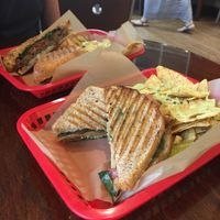 """Photo of VO2 Vegan Cafe  by <a href=""""/members/profile/LuLuvegan"""">LuLuvegan</a> <br/>tofyrky melt with nachos ? <br/> June 28, 2017  - <a href='/contact/abuse/image/34862/274218'>Report</a>"""