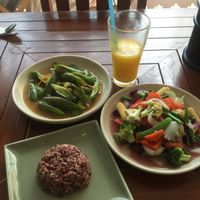 """Photo of Anchan Vegetarian Restaurant  by <a href=""""/members/profile/TheRawPerformer"""">TheRawPerformer</a> <br/>Nice fresh veggies <br/> June 15, 2016  - <a href='/contact/abuse/image/34920/154003'>Report</a>"""