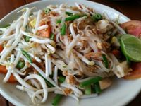 """Photo of Anchan Vegetarian Restaurant  by <a href=""""/members/profile/eric"""">eric</a> <br/>phad Thai <br/> June 15, 2016  - <a href='/contact/abuse/image/34920/154005'>Report</a>"""
