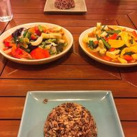 """Photo of Anchan Vegetarian Restaurant  by <a href=""""/members/profile/doughnads"""">doughnads</a> <br/>Amazing stir fry's with red rice <br/> December 24, 2016  - <a href='/contact/abuse/image/34920/204407'>Report</a>"""