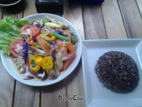 """Photo of Anchan Vegetarian Restaurant  by <a href=""""/members/profile/Naphatntl"""">Naphatntl</a> <br/>Our market fresh stirfried vegetable dish might be the simplest one on the menu, but that is no reason to disregard it <br/> October 26, 2012  - <a href='/contact/abuse/image/34920/39434'>Report</a>"""