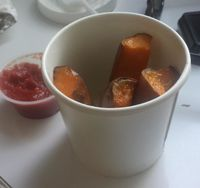 """Photo of Blossom Du Jour - Midtown  by <a href=""""/members/profile/nstrawbr"""">nstrawbr</a> <br/>Sweet Potato Wedges <br/> June 6, 2014  - <a href='/contact/abuse/image/35196/212345'>Report</a>"""