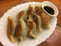 "Photo of Aunty Mena's  by <a href=""/members/profile/Tiggy"">Tiggy</a> <br/>Fried dumplings $9 - Delicious <br/> January 10, 2018  - <a href='/contact/abuse/image/3540/345107'>Report</a>"