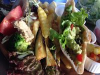 """Photo of CLOSED: Vespera's Falafel  by <a href=""""/members/profile/eiji"""">eiji</a> <br/>fresh avovcado sandwich <br/> December 5, 2014  - <a href='/contact/abuse/image/36290/87256'>Report</a>"""