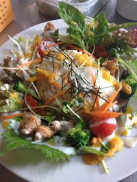 """Photo of CLOSED: Vespera's Falafel  by <a href=""""/members/profile/eiji"""">eiji</a> <br/>salad plate <br/> December 5, 2014  - <a href='/contact/abuse/image/36290/87258'>Report</a>"""