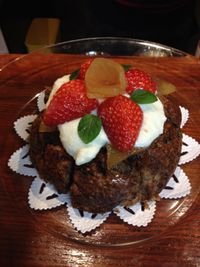 """Photo of CLOSED: Vespera's Falafel  by <a href=""""/members/profile/eiji"""">eiji</a> <br/>cake for the private party <br/> March 21, 2015  - <a href='/contact/abuse/image/36290/96407'>Report</a>"""