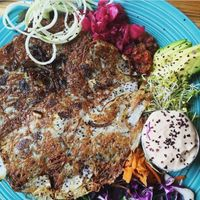 """Photo of Superfresh Organic Cafe  by <a href=""""/members/profile/Equilibrium"""">Equilibrium</a> <br/>Hashbrown Deluxe <br/> February 23, 2017  - <a href='/contact/abuse/image/36615/229637'>Report</a>"""