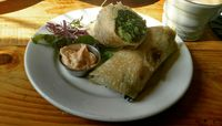"""Photo of Superfresh Organic Cafe  by <a href=""""/members/profile/veganmamaearthling"""">veganmamaearthling</a> <br/>Green Mountain Wrap <br/> August 21, 2017  - <a href='/contact/abuse/image/36615/295026'>Report</a>"""