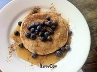 """Photo of Superfresh Organic Cafe  by <a href=""""/members/profile/Equilibrium"""">Equilibrium</a> <br/> 'Paleo Pancakes' (grain free / sugar free / vegan)! <br/> January 29, 2013  - <a href='/contact/abuse/image/36615/43484'>Report</a>"""