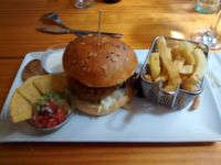 """Photo of Zombie Bar  by <a href=""""/members/profile/LeFunks"""">LeFunks</a> <br/>'La vegana' burger <br/> May 3, 2016  - <a href='/contact/abuse/image/36777/147231'>Report</a>"""