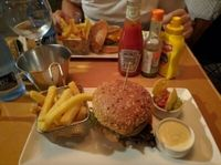 """Photo of Zombie Bar  by <a href=""""/members/profile/martinicontomate"""">martinicontomate</a> <br/>vegan burger <br/> July 11, 2016  - <a href='/contact/abuse/image/36777/159018'>Report</a>"""