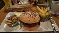 """Photo of Zombie Bar  by <a href=""""/members/profile/Luckydog"""">Luckydog</a> <br/>Vegan Burger <br/> April 12, 2018  - <a href='/contact/abuse/image/36777/384411'>Report</a>"""