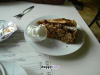 """Photo of Harvest Cafe Bistrot  by <a href=""""/members/profile/beticita"""">beticita</a> <br/>A delicious vegan apple dessert <br/> October 3, 2013  - <a href='/contact/abuse/image/37469/56230'>Report</a>"""