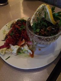 """Photo of Harvest Cafe Bistrot  by <a href=""""/members/profile/JazzyCow"""">JazzyCow</a> <br/>Lentil salad <br/> August 10, 2014  - <a href='/contact/abuse/image/37469/76460'>Report</a>"""
