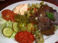 """Photo of Soi Soi  by <a href=""""/members/profile/Tanja%2A"""">Tanja*</a> <br/>Sataman seitan. Seitan with fried potatoes.  <br/> April 11, 2014  - <a href='/contact/abuse/image/37473/67411'>Report</a>"""