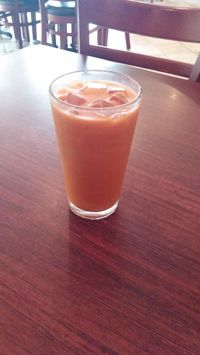 """Photo of CLOSED: Green Leaf Vegetarian Restaurant  by <a href=""""/members/profile/Gizzykat"""">Gizzykat</a> <br/>vegan Thai tea  <br/> August 19, 2014  - <a href='/contact/abuse/image/37620/77519'>Report</a>"""
