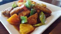 """Photo of CLOSED: Green Leaf Vegetarian Restaurant  by <a href=""""/members/profile/Gizzykat"""">Gizzykat</a> <br/>Hawaiian deluxe <br/> August 26, 2014  - <a href='/contact/abuse/image/37620/78308'>Report</a>"""