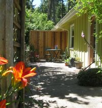 """Photo of Velo Bed and Breakfast  by <a href=""""/members/profile/mishaenglish123"""">mishaenglish123</a> <br/>The Tandem Room features its own large private patio <br/> August 3, 2013  - <a href='/contact/abuse/image/38811/219432'>Report</a>"""