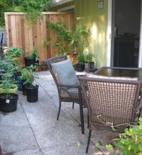 """Photo of Velo Bed and Breakfast  by <a href=""""/members/profile/mishaenglish123"""">mishaenglish123</a> <br/>Have breakfast on the shaded guest patio <br/> July 2, 2013  - <a href='/contact/abuse/image/38811/219433'>Report</a>"""