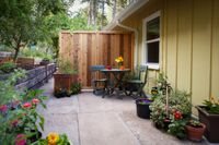 """Photo of Velo Bed and Breakfast  by <a href=""""/members/profile/mishaenglish123"""">mishaenglish123</a> <br/>The Tandem Room's private patio <br/> February 28, 2014  - <a href='/contact/abuse/image/38811/64953'>Report</a>"""